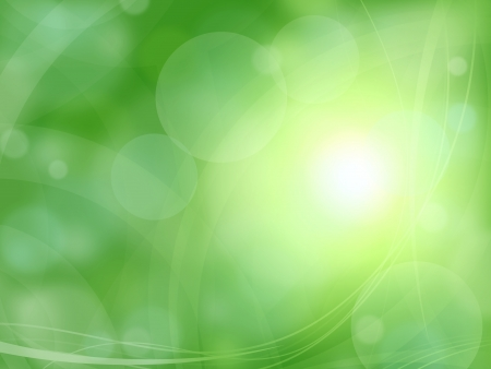 spring fresh green background Stock Photo