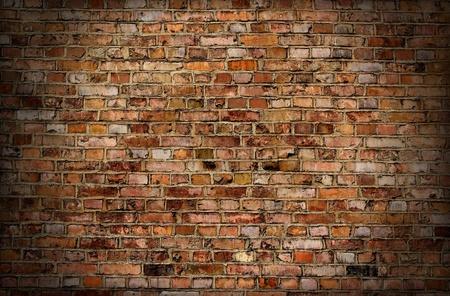 broken brick: Brick old wall texture or background