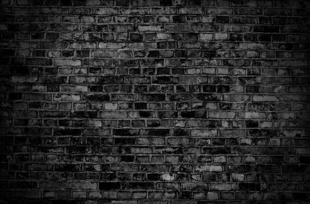 Sombre texture vieux mur de briques ou de fond