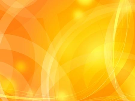 un fond abstrait orange pour la conception