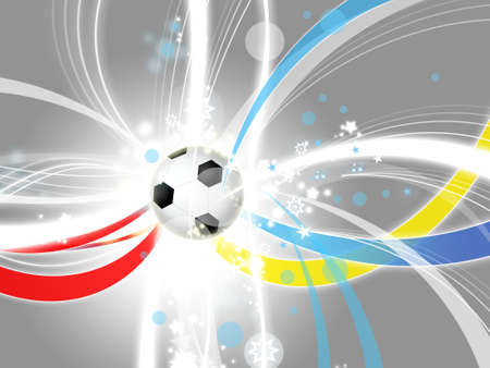 euro 2012 modern light grey background Stock Photo - 14619518