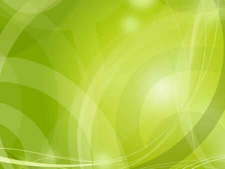 spring time: Green light abstract fresh background