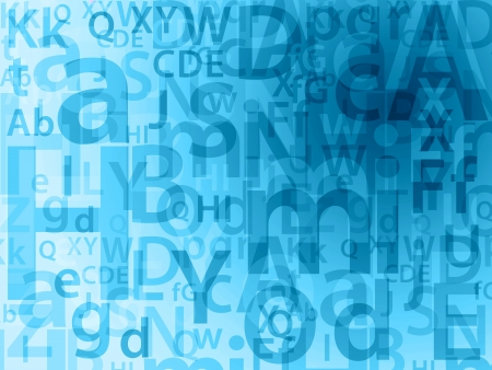 random letters background