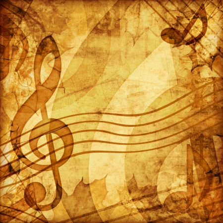 vintage music background photo