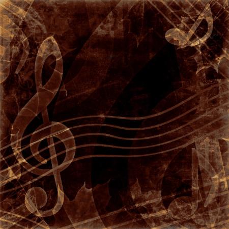vintage dark notes photo
