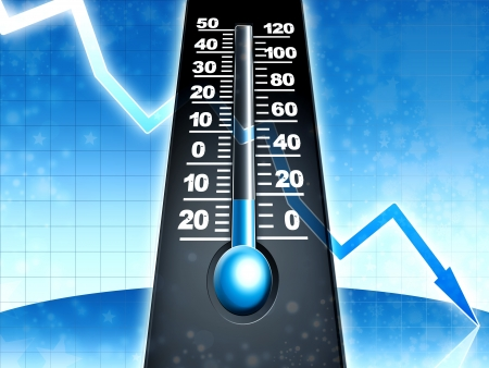 température glaciale froide