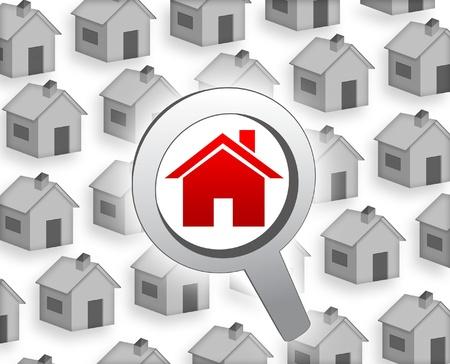 find a house Zdjęcie Seryjne - 14652771