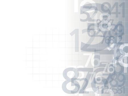 números delicado fondo ilustración luz