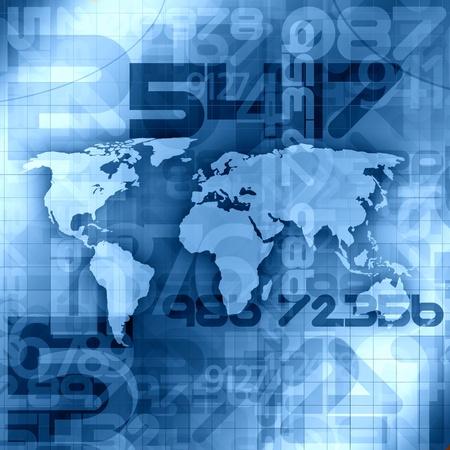 World Information Concept  Zdjęcie Seryjne