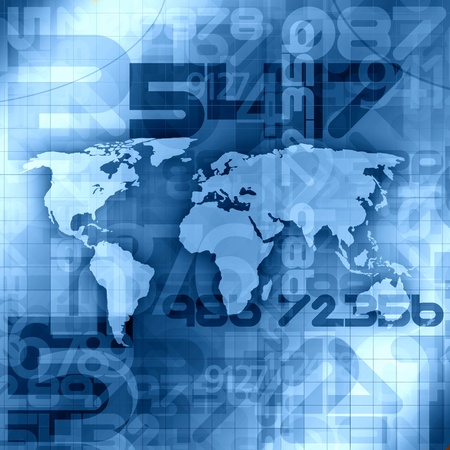 World Information Concept Stock Photo - 14652863