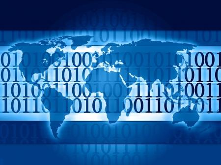 Global wereld informatie