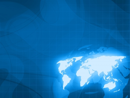 digital world technology background photo