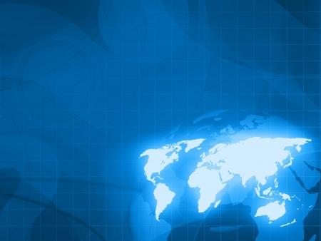 fond de technologie numérique mondiale