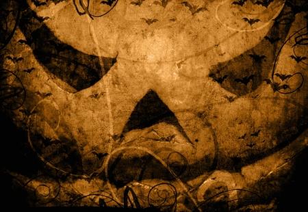 thriller: Halloween Pumpkin dark scary artistic background