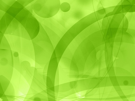 web2: green nature abstract background illustration Stock Photo