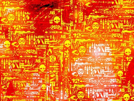 war red black abstract background