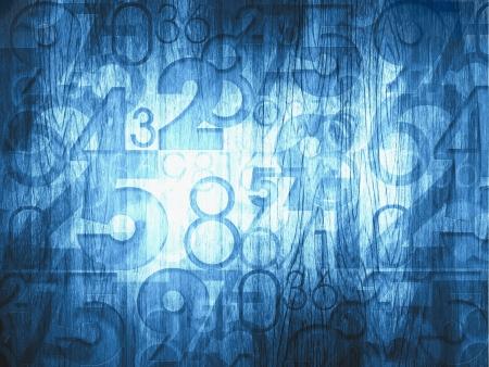 dark blue abstract numbers background Zdjęcie Seryjne
