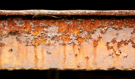 detai: detail of abstract industrial rusty machine - background texture