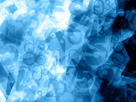 programing: blue dynamic abstract numbers background texture