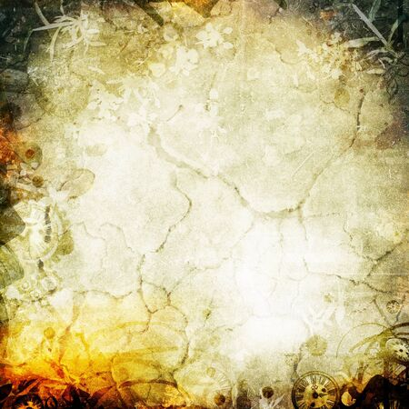 scorched: Abstract apocalypse background texture for your design Stock Photo