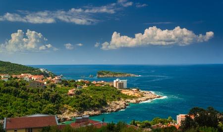 montenegro: Montenegro, Adriatic sea beautiful sunny landscape