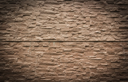 stone wall texture: stone wall rustic texture brown background texture Stock Photo
