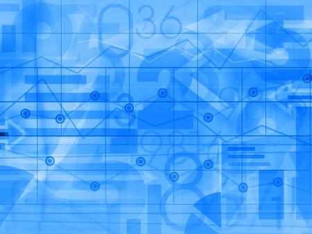 contabilidad financiera cuentas: negocio corporativo financiero luz azul de fondo ilustraci�n
