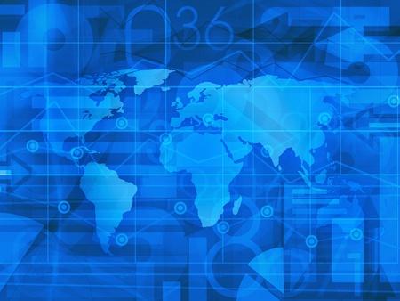 World Business Contexte Nouvelles Banque d'images