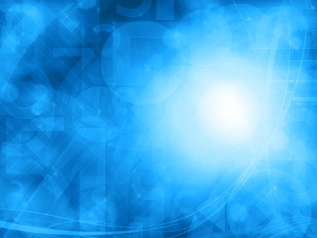 abstract blue technology background texture
