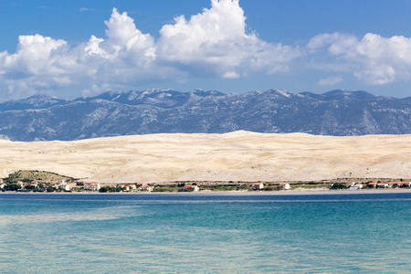Island of Pag landscape, Croatia, Europe
