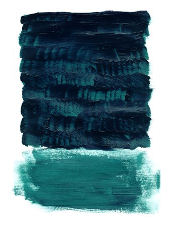 Strokes of Acrylic paint on sketch pad paper, scanned and tweaked. Stock Photo