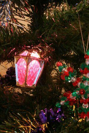Tree decorations photo