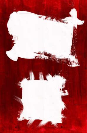 Acrylic paint on Canvas Stock Photo