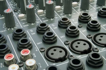 jackplug: Shots of Sound Mixing console