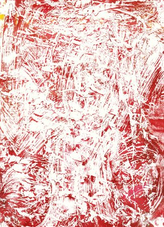monoprints created on a glass sheet with watercolour paint, scanned at high res Stock Photo