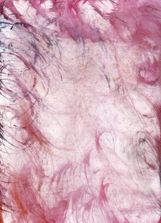 cloth wiped watercolour paint on paper, scanned at high res Stock Photo