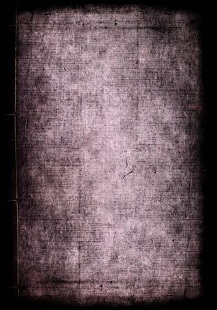 Meiji Period Japanese Book paper textures Stock Photo