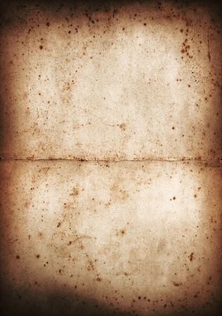 Different Coloured versions Old paper. Great design Element or grunge layer. Stock Photo