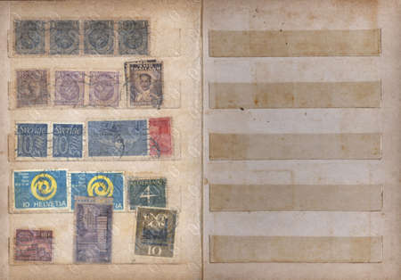 Scans of an old stamp Album