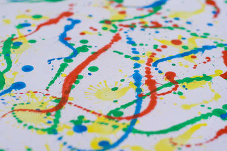 dripped: Splatterd, printed, dripped and dropped ;)