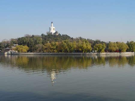In Beijing, China, Beihai Park