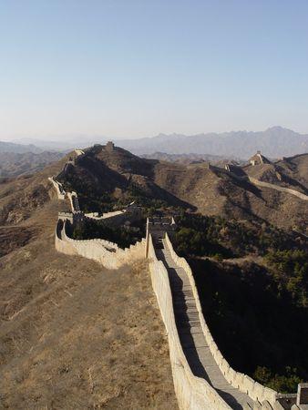 Views of the Great Wall of China, trek from Jinshaling to Simatai