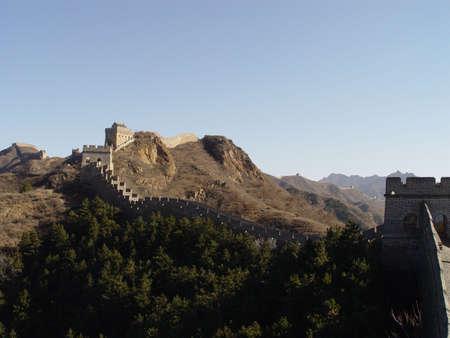 jinshaling: Views of the Great Wall of China, trek from Jinshaling to Simatai