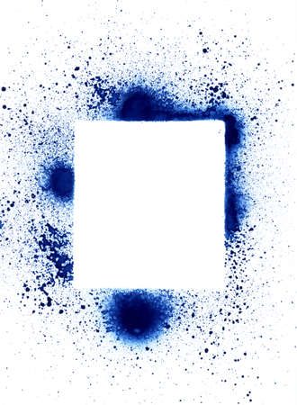 layer mask: Spray can (aerosol) splatter design elements, for backgrounds and grunge  graffiti. Stock Photo