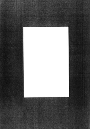 photocopy: Photocopy frame, design element for backgrounds etc