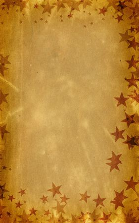 Festive Party Christmas Card background with Stars... Have a very grungy Christmas