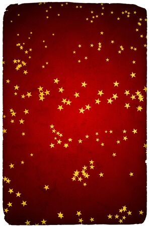 Greetings card background with stars photo