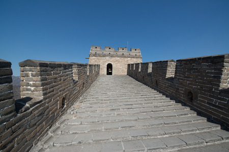mutianyu: Great Wall of China at Mutianyu, near Beijing, China