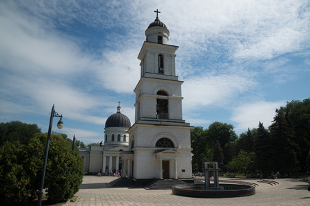 The Metropolitan Cathedral Nativity of the Lord, Catedrala Nasterea Domnului in Chisinau, Moldova