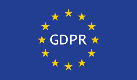 Allgemeine Datenschutzverordnung (DSGVO) Vektorgrafik
